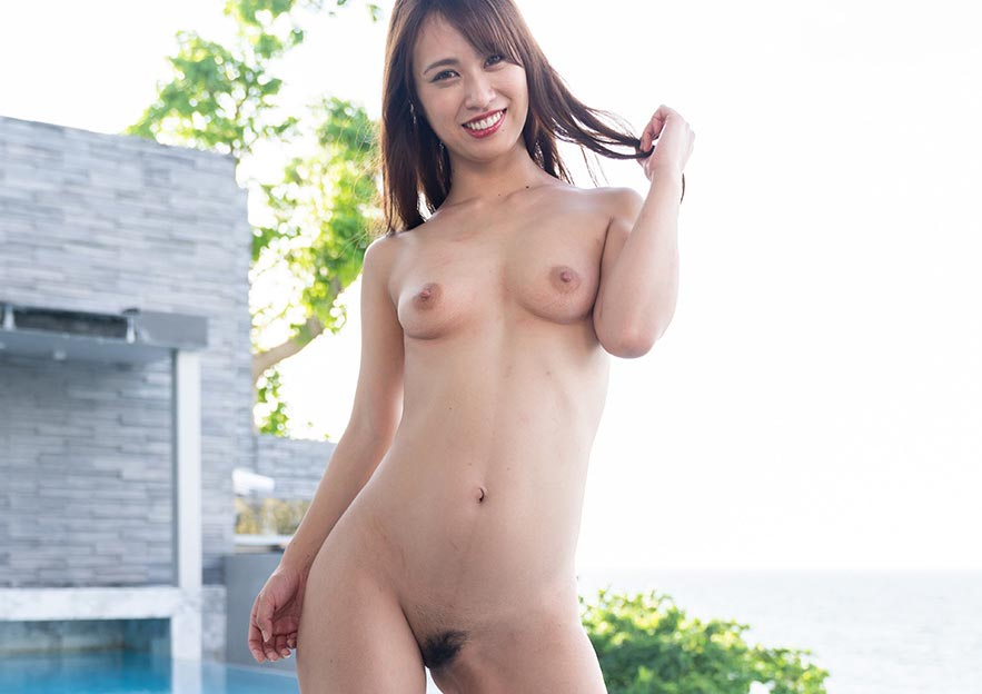 Cute Japanese Girl Posing Naked