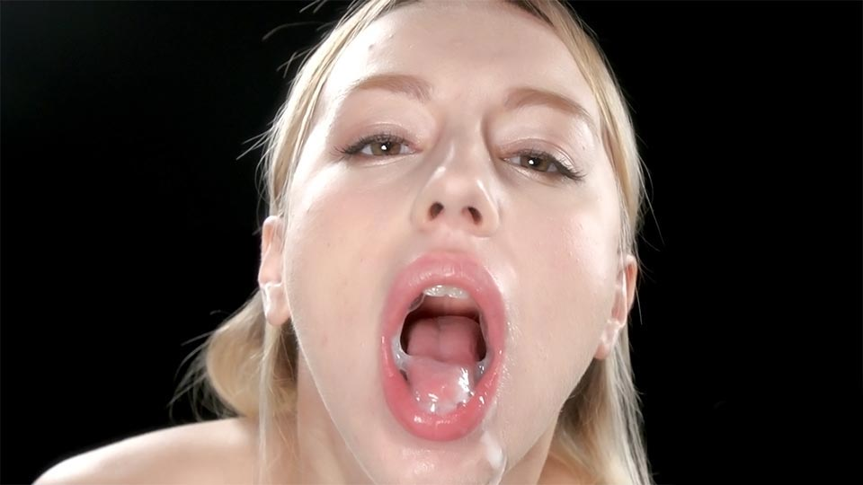 Teens Cum Covered Group Blowjob