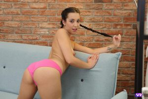 Amateur girl getting naked
